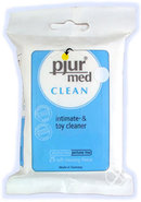 Pjur Med Clean Intimacy Soft Cleaning Fleece And Toy Wipes...