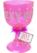 Bachelorette Party Favors Sexy Bitch Pimp Cup Pink