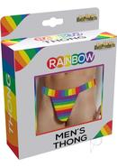 Rainbow Men`s Thong