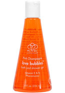 Pink Champagne Love Bubbles Bath And Shower Gel With...